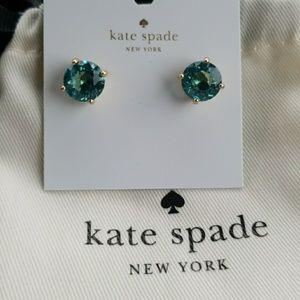 Kate Spade Turquoise Gumdrop Earrings